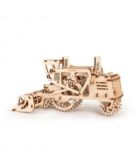 "Wooden 3D puzzle ""Combine harvester"""
