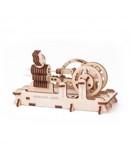 "Wooden 3D puzzle ""Pneumatic Engine"""