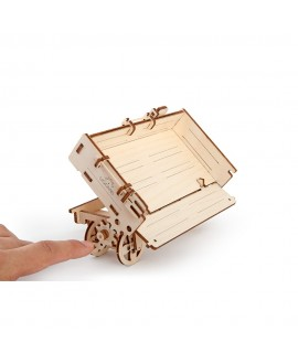 """Wooden 3D puzzle """"Tractor trailer"""""""