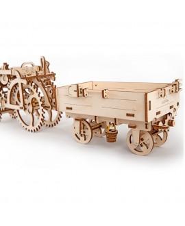 """Дерев'яний 3D пазл """"Причіп до трактора"""""""