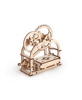 """Дерев'яний 3D пазл """"Механічна шкатулка"""""""