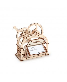 """Wooden 3D puzzle """"Mechanical Box"""""""