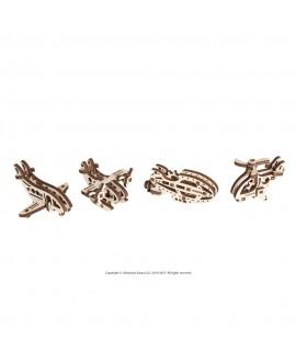 """Wooden 3D puzzle """"Fidgets-Airplanes"""""""