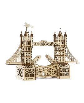 """Дерев'яний 3D пазл """"Тауерський міст"""""""