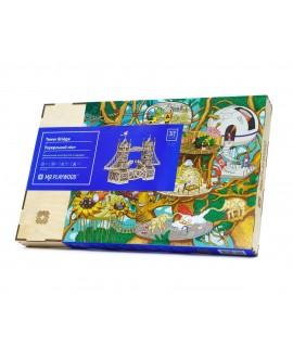 """Wooden 3D puzzle """"Tower Bridge"""""""
