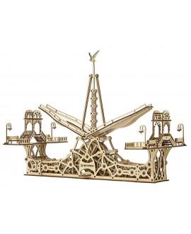 """Деревянный 3D пазл """"Пешеходный мост"""""""