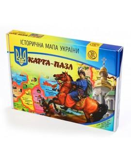 "Map-puzzle ""Historical map of Ukraine"""