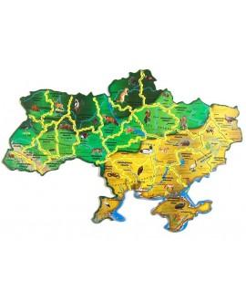 "Пазли ""Флора і фауна України"""