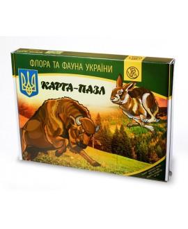 "Puzzles ""Flora and fauna of Ukraine"""