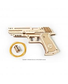 """Дерев'яний 3D пазл """"Пістолет Вольф-01"""""""