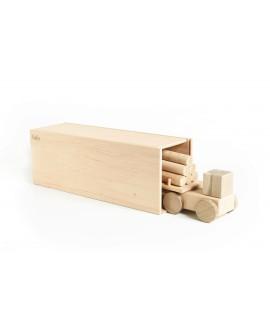 "Wooden toy ""Big Logging truck"""