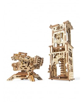 "Wooden 3D puzzle ""Tower-Arcbalist"""