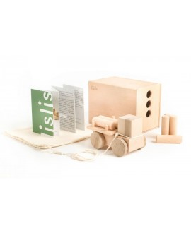 """Wooden toy """"Small Logging truck"""""""