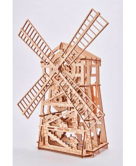 "Wooden 3D puzzle ""Mechanical mill"""