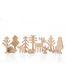 """Дерев'яна іграшка """"Лісові Дерева"""""""