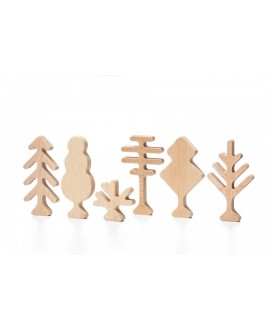 """Wooden toy """"Forest Trees"""""""