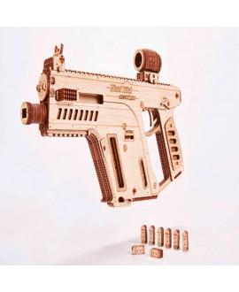 """Wooden 3D puzzle """"Assault rifle"""""""