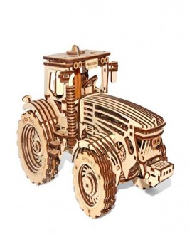 "Wooden 3D puzzle ""Tractor"""