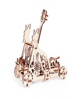 """Wooden 3D puzzle """"Catapult"""""""