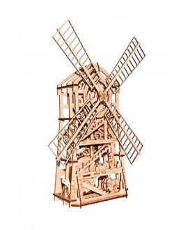 """Дерев'яний 3D пазл """"Механічний млин"""""""