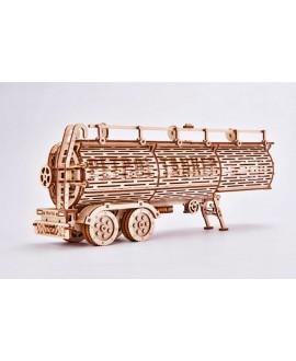 """Wooden 3D puzzle """"Tank trailer"""""""