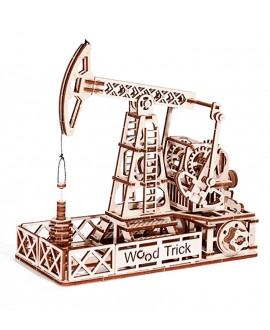 "Wooden 3D puzzle ""Oil Rig"""