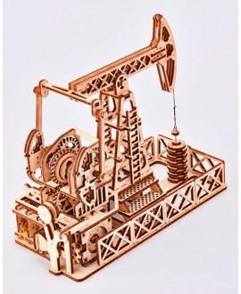 """Дерев'яний 3D пазл """"Нафтовишка"""""""