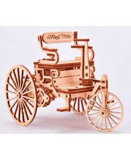 """Дерев'яний 3D пазл """"Перший автомобіль"""""""