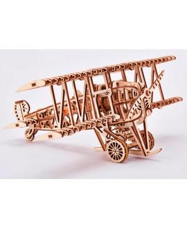 """Дерев'яний 3D пазл """"Літак"""""""