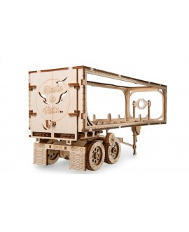 """Wooden 3D puzzle """"Trailer for Truck VM-03"""""""