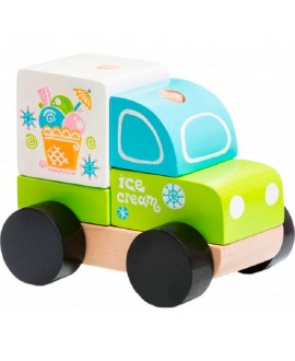 "Toy car ""Express ice cream"" LM-8"