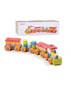 """Дерев'яна іграшка """"Поїзд"""" LР-1"""