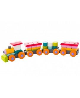 """Деревянная игрушка """"Поезд"""" LР-1"""