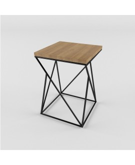 Bar stool TWIST Black