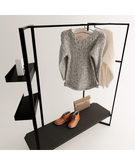 Clothes rail WELCOME