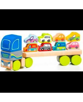 Вантажівка з автомобілями LM-12