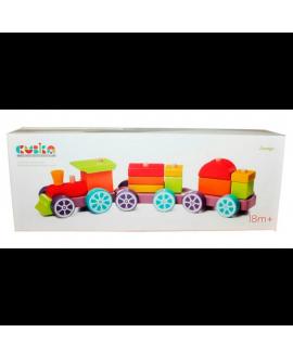 """Іграшка поїзд """"Веселковий експрес"""" LP-3"""