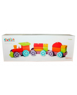 "Toy train ""Rainbow Express"" LP-3"