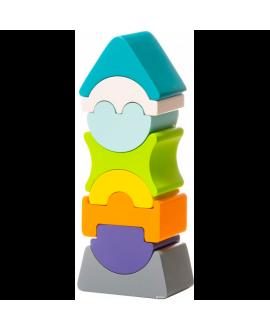 """Дерев'яна іграшка """"Гнучка вежа"""" LD-7"""