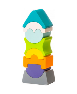 """Деревянная игрушка """"Гибкая башня"""" LD-7"""