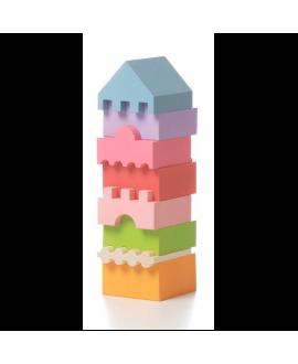 """Дерев'яна іграшка """"Пірамідка"""" LD-4"""