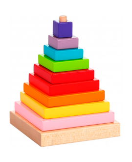 """Дерев'яна іграшка """"Пірамідка"""" LD-5"""