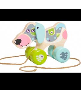 Happy puppy (push & pull) LK-1