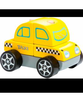 """Дерев'яна машинка """"Таксі"""" LM-6"""