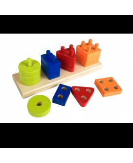 Geometric sorter rectangle