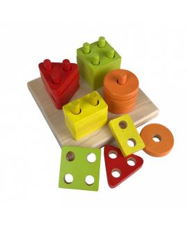 Geometric sorter square