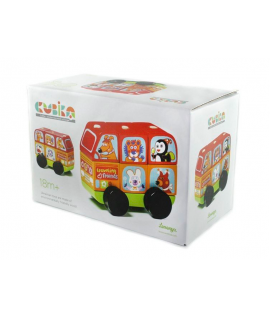 "Wooden toy Bus ""Funny animals"""
