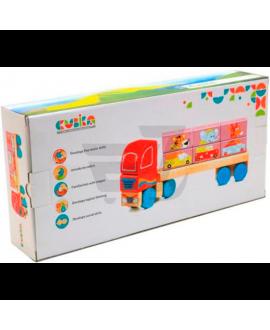 """Іграшка """"Вантажівка з кубиками"""" LM-14"""