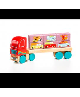 Вантажівка з цеглинками LM-14