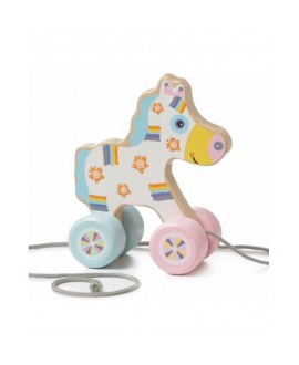 "Wooden toy ""Happy horsy"" (push & pull) LK-3"